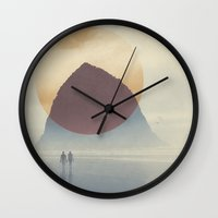 Haystack Rock of Cannon Beach, Oregon Wall Clock