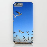 iPhone & iPod Case featuring Fly, birds, fly! by John Martino