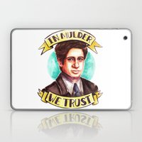 In Mulder We Trust Laptop & iPad Skin