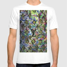 LV Mens Fitted Tee White SMALL