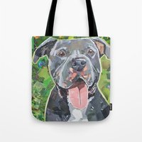 Keeto The Pittie Tote Bag