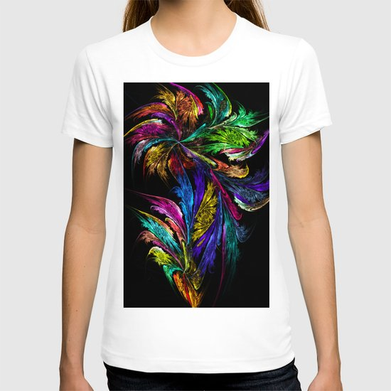 Flower - perhaps too colorful... T-shirt