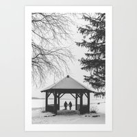 Winter Is Better With A … Art Print