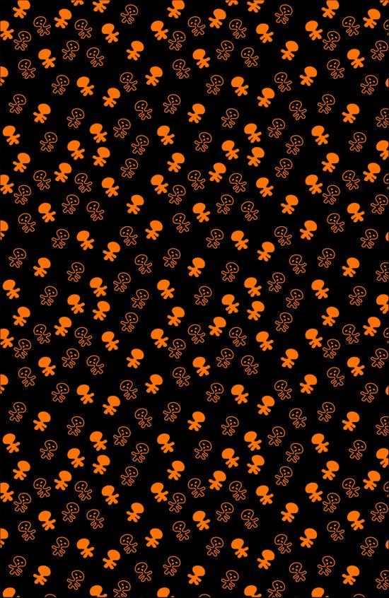 Aliens-Orange Art Print