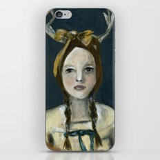 Woodland Girl iPhone & iPod Skin