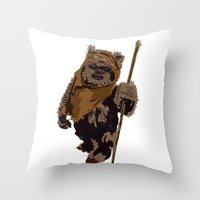 Yubnub! Throw Pillow