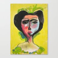 Cameo #1 Canvas Print