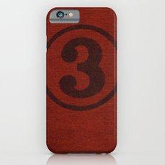 number series: #3 Slim Case iPhone 6s
