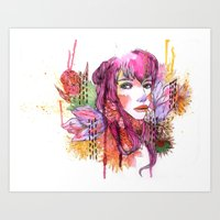 Blushing In Spring Art Print