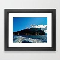 Lighthouse: Amalfi Coast… Framed Art Print