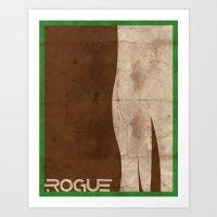 Minimalist Rogue Art Print