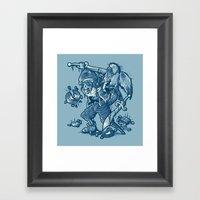 Bootleg Hunter Framed Art Print