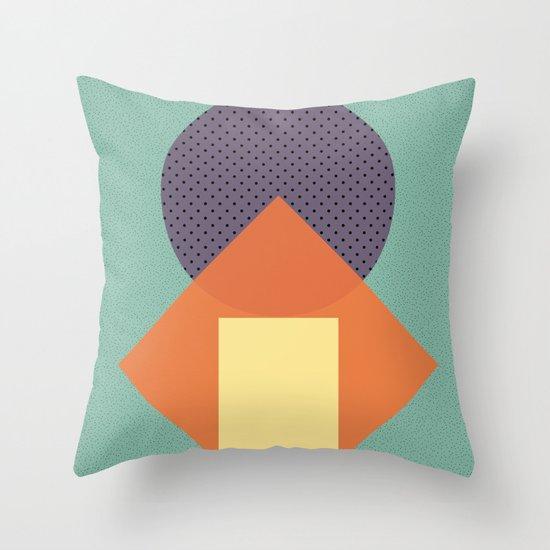 Cirkel is my friend V4 Throw Pillow