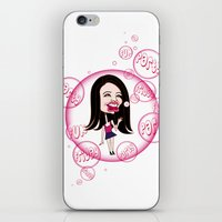 Rebecca Black. It's Friday Again! iPhone & iPod Skin