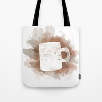 Coffee Stain Tote Bag