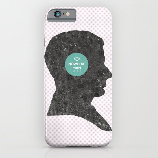 Nowhere Man. iPhone & iPod Case