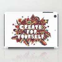 Create For Yourself (2) iPad Case