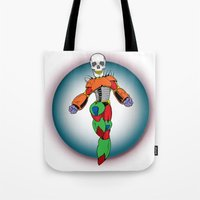 MIGHTY SKULL Tote Bag