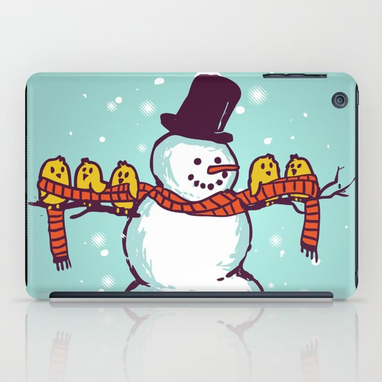 Sharing is caring (Winter edition) iPad Case