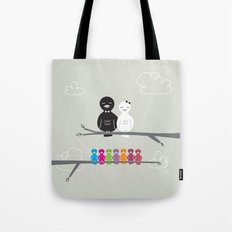 The Happy Family Tote Bag