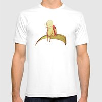 La Fumette Mens Fitted Tee White SMALL