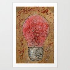 Redlightgo! Art Print