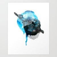 Caught In Destiny's Orbi… Art Print