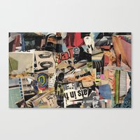 Ats In Th Canvas Print