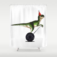 Eureka! (Now with extra party) Shower Curtain
