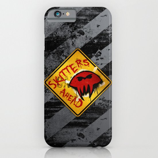 Caution: Skitters Ahead (Falling Skies) iPhone & iPod Case