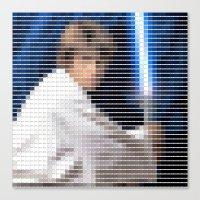 Luke Skywalker - StarWar… Canvas Print