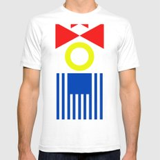 clown Mens Fitted Tee White SMALL
