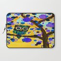 :: Sunshine Gemmy Owl :: Laptop Sleeve