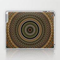 Laptop & iPad Skin featuring Fractal Kaleido Study 00… by Charma Rose