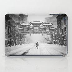 China snow iPad Case