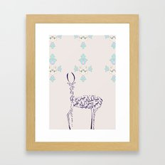 note Framed Art Print