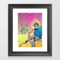 Marinero - Chican@ Framed Art Print