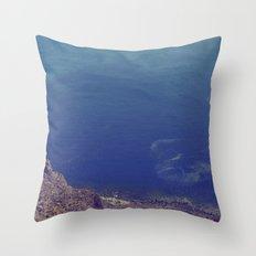 Sea green, ocean blue Throw Pillow