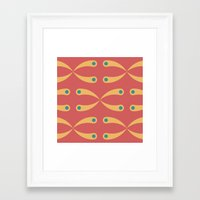 Honeysuckle Framed Art Print