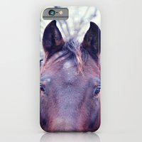 iPhone & iPod Case featuring Horse by KunstFabrik_StaticMovement Manu Jobst
