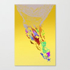 Save the seas Canvas Print