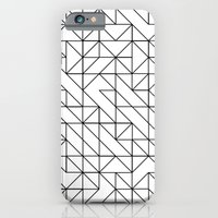 BW TRIANGLE PATTERN iPhone 6 Slim Case