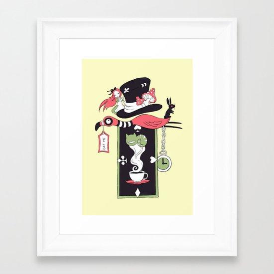 Alice Banner Framed Art Print