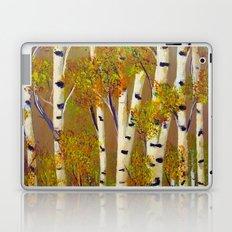 Birch trees-3 Laptop & iPad Skin