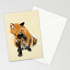Fox and Dandelion Stationery Cards