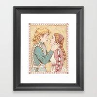Romeo And Juliet Framed Art Print