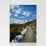 Routeburn Track Stationery Cards