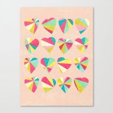 Some Hearts Canvas Print
