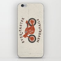 Ever Faster Never Fails : Motorcycle iPhone & iPod Skin