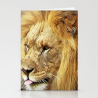 Thirsty Lion Stationery Cards